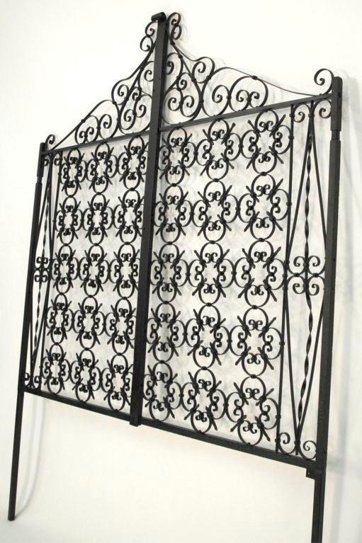 Italian Iron Gate Queen Size Headboard 5