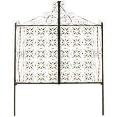 Italian Iron Gate Queen Size Headboard