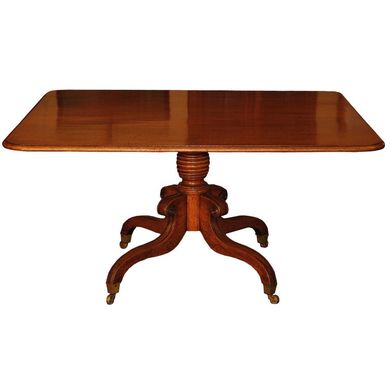 George IV Tilt-Top Pedestal Table 1