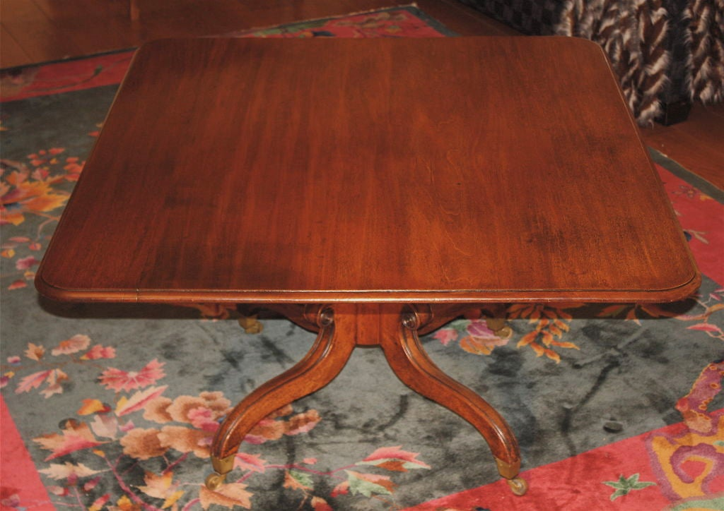 George IV Tilt-Top Pedestal Table 2