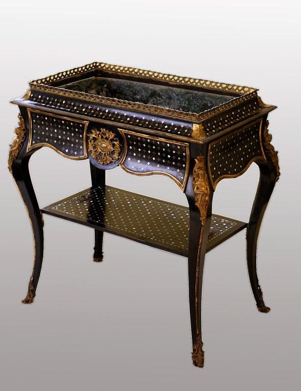 French Napoleon III Metamorphic Jardiniere Table For Sale