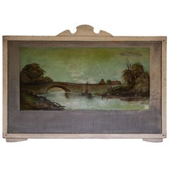 FOUR Hudson Valley Carousel Panels by Thomas Benjamin Pope