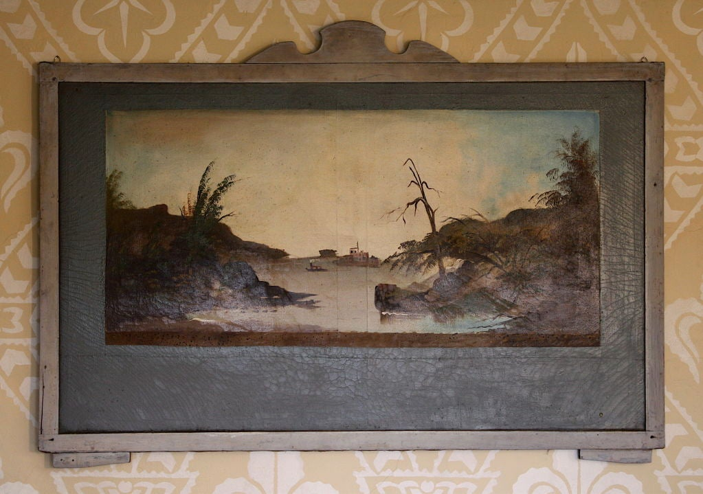 19th Century FOUR Hudson Valley Carousel Panels by Thomas Benjamin Pope For Sale