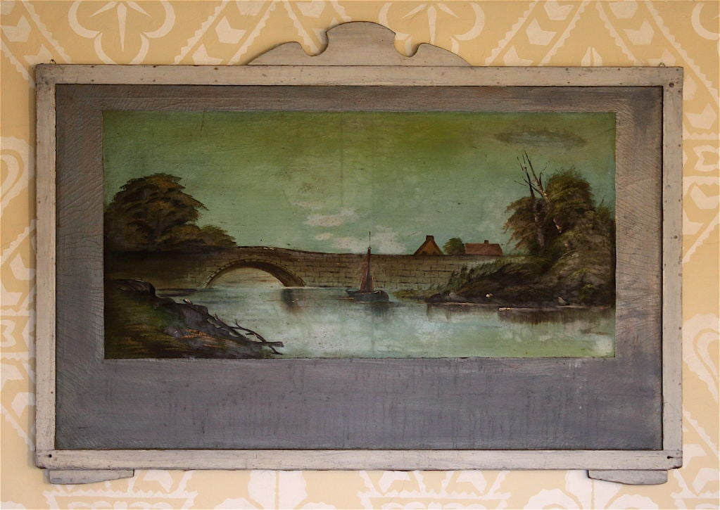 FOUR Hudson Valley Carousel Panels by Thomas Benjamin Pope In Distressed Condition For Sale In Woodbury, CT