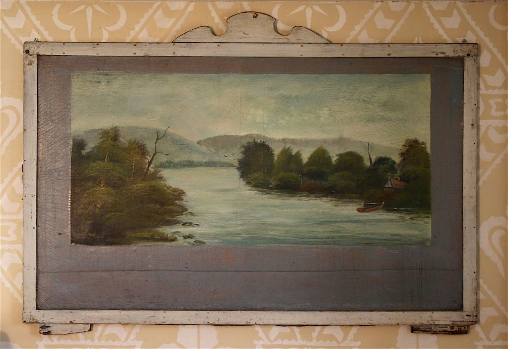 American FOUR Hudson Valley Carousel Panels by Thomas Benjamin Pope For Sale