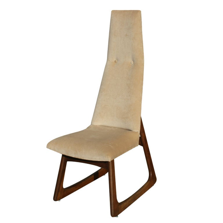 Pair Of Adrian Pearsall For Craft Associates High Back Chairs image 4