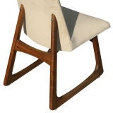 Pair Of Adrian Pearsall For Craft Associates High Back Chairs thumbnail 6