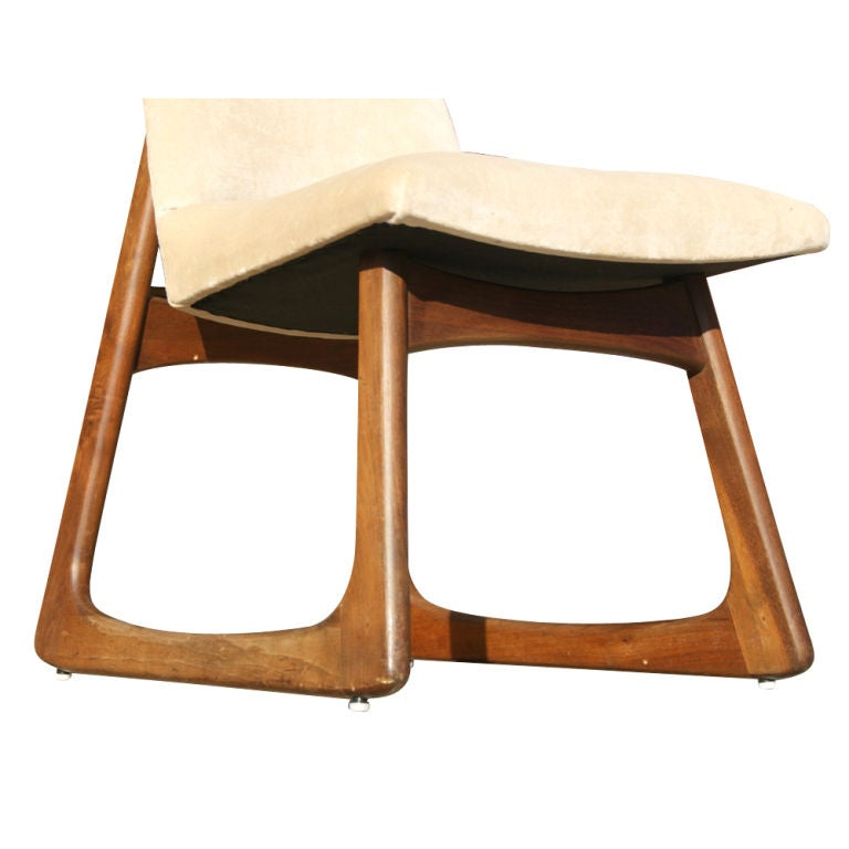 Pair Of Adrian Pearsall For Craft Associates High Back Chairs image 7