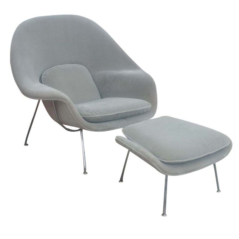 Superbe Eero Saarinen For Knoll Womb Chair And Ottoman For Sale