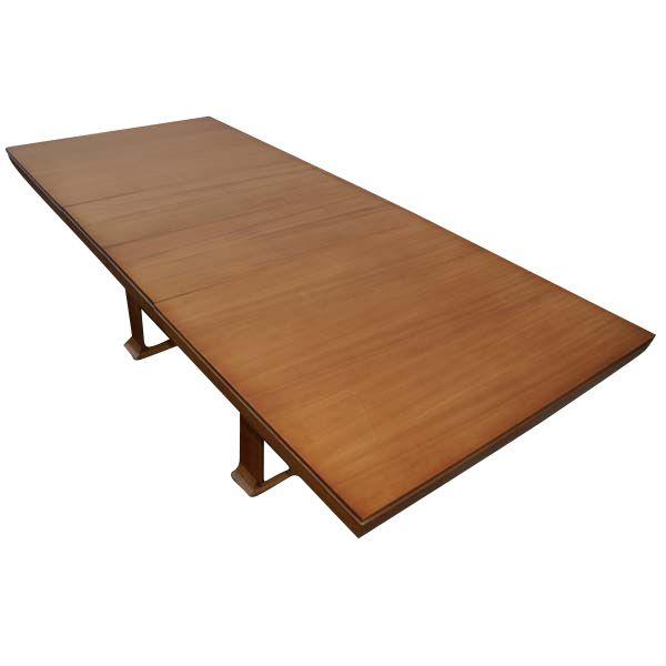 paul frankl for brown saltman chestnut dining table at 1stdibs