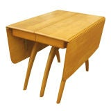 heywood wakefield dining room table | Heywood Wakefield Butterfly Dining Table at 1stdibs