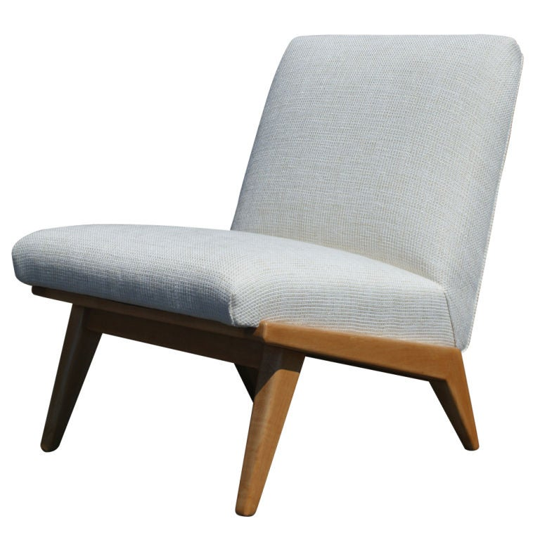 Vintage Jens Risom For Knoll Lounge Chair