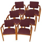 Six George Nelson for Herman Miller Armchairs Reduced