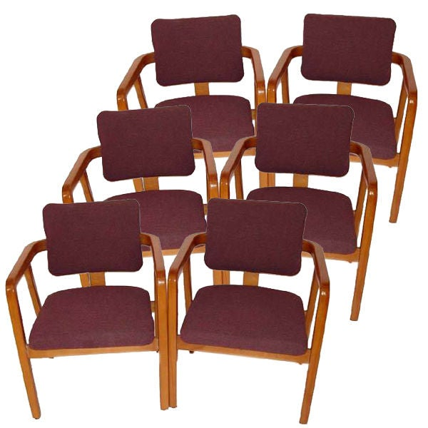 Six george nelson for herman miller armchairs reduced at for Reduced furniture