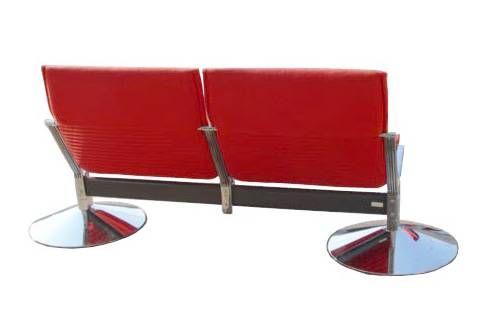 German 1 Klaus Franck & Werner Sauer Two Seat Sofa For Sale