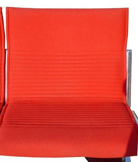 1 Klaus Franck & Werner Sauer Two Seat Sofa In Good Condition For Sale In Pasadena, TX