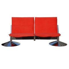 Klaus Franck & Werner Sauer Two Seat Sofa