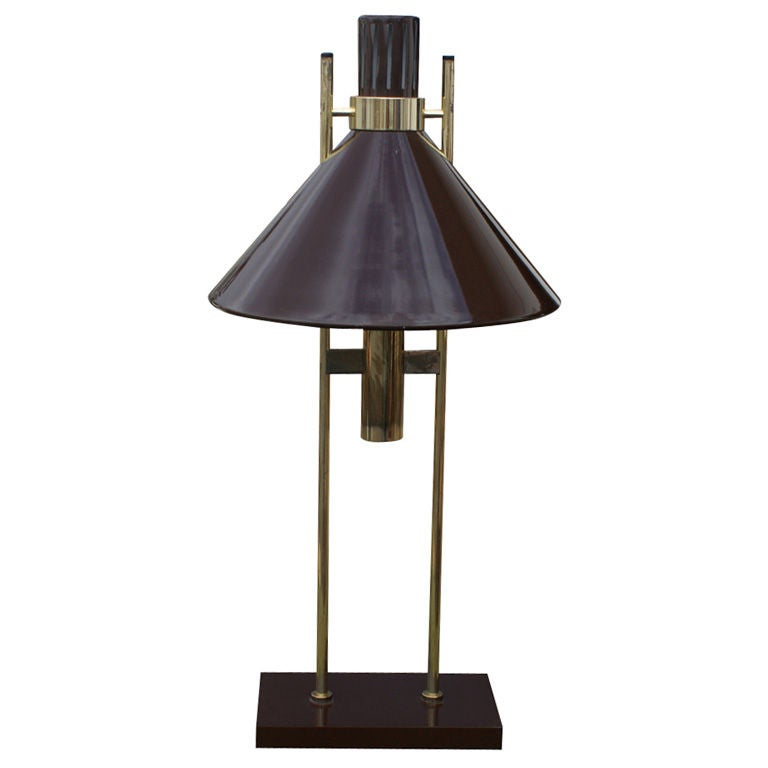 Robert Sonneman 1960s Vintage Table Lamp