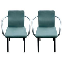 Pair of Mandarin Armchairs by Ettore Sottsass for Knoll