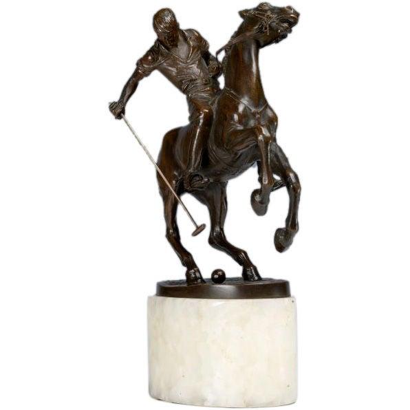Bruno Zach polo player bronze