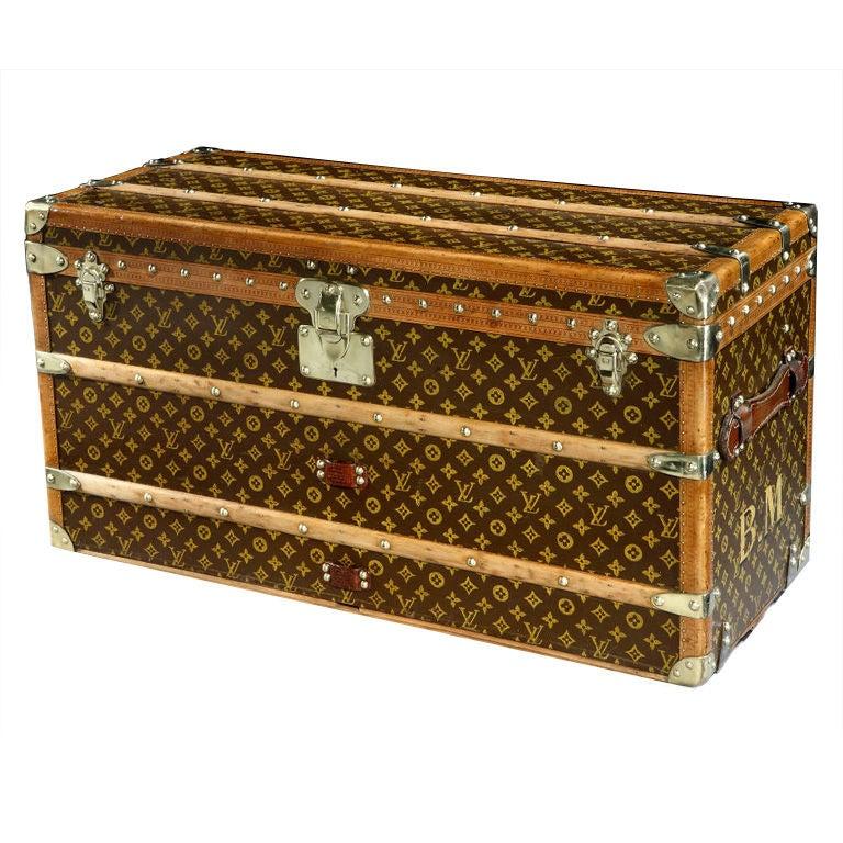 Louis Vuitton shoe trunk