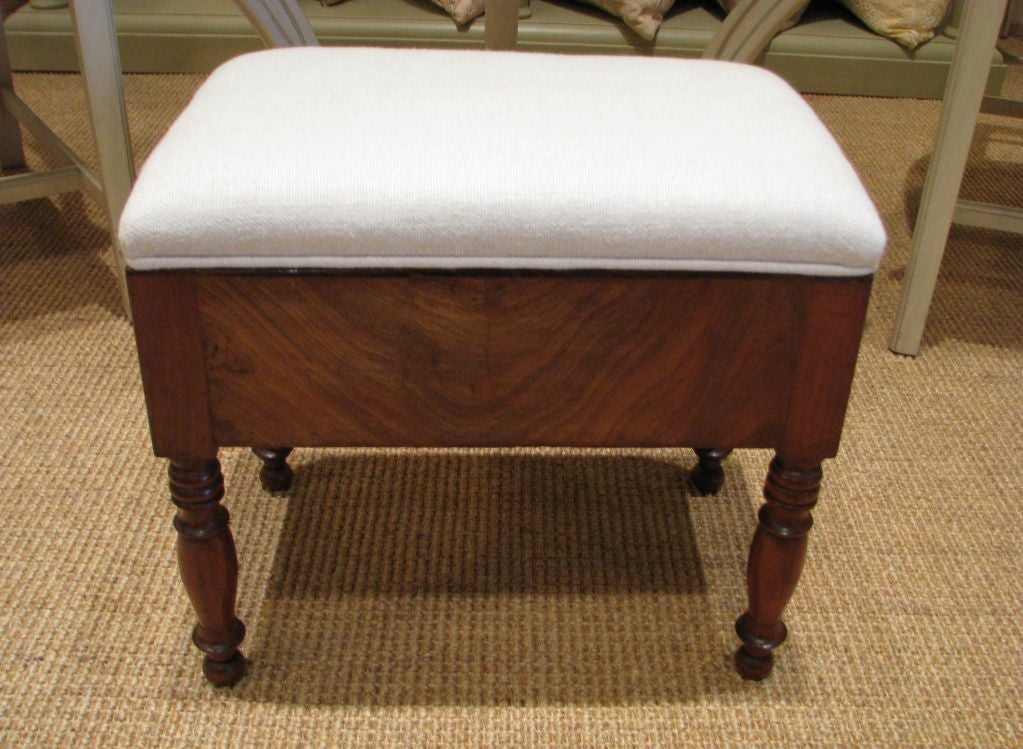 Antique French Foot Stool At 1stdibs