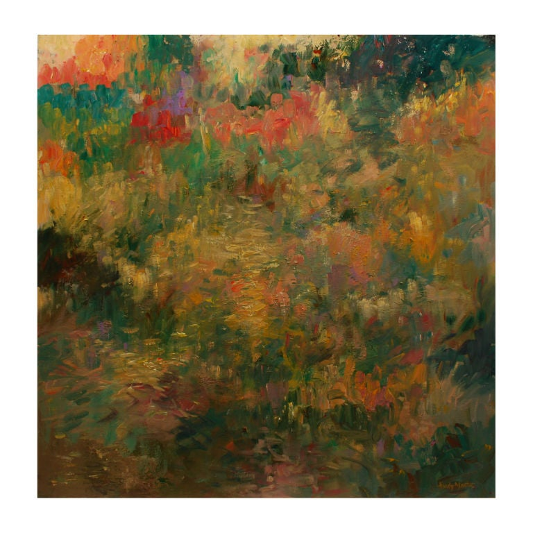 French Gardens O C By Artist H Martin At 1stdibs