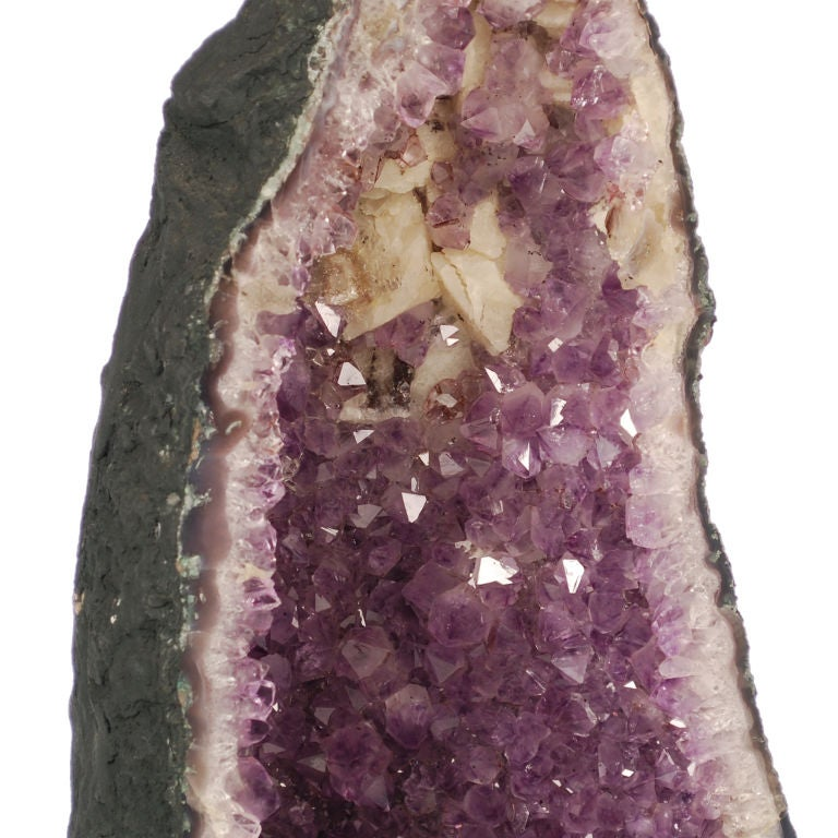 Two large Purple Amethyst Geodes from Brazil image 5