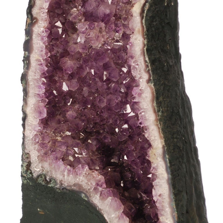 Two large Purple Amethyst Geodes from Brazil image 6