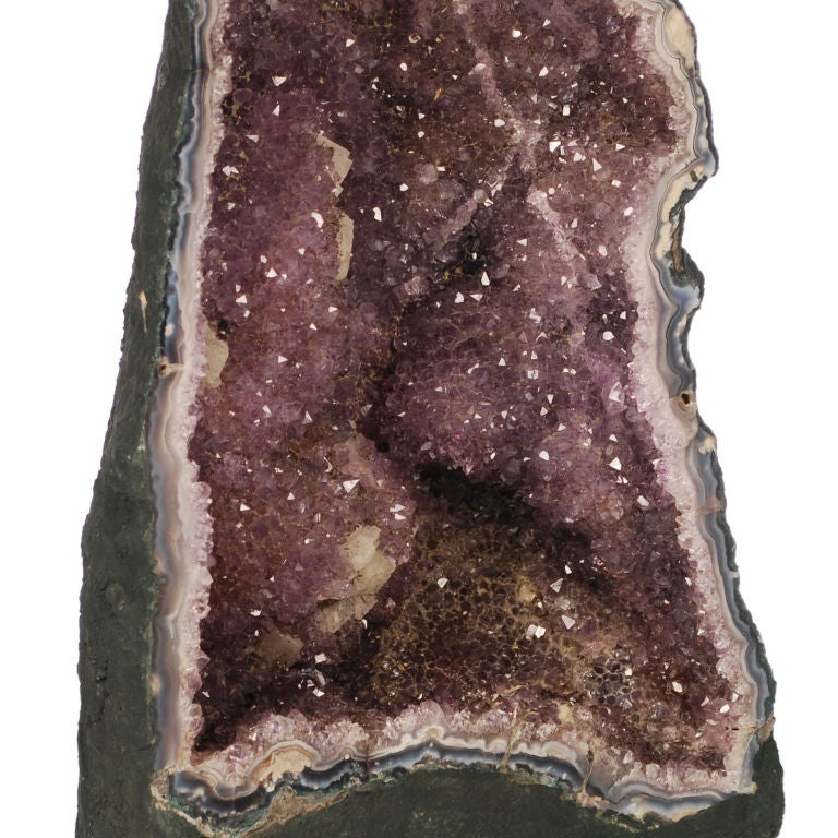 Two large Purple Amethyst Geodes from Brazil image 9