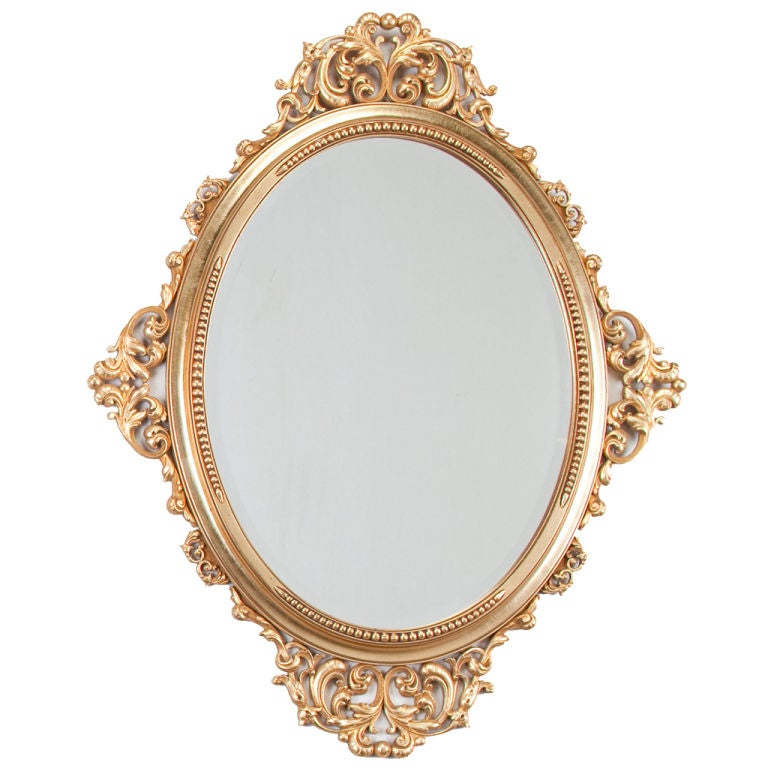 Louis xv style rococo mirror at 1stdibs for Mirror of mirror