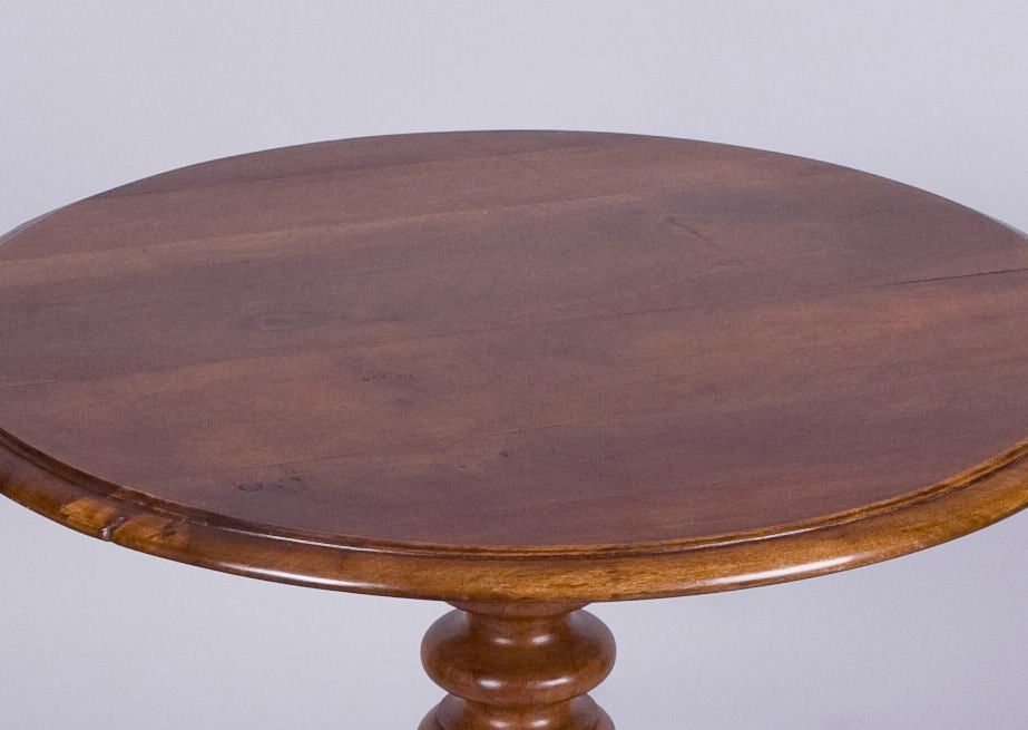 French louis philippe gueridon table at 1stdibs for Table ronde louis philippe