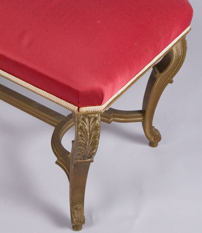louis xv style banquette at 1stdibs