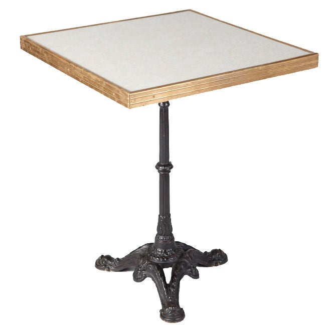 French 1950 39 S Bistro Table At 1stdibs