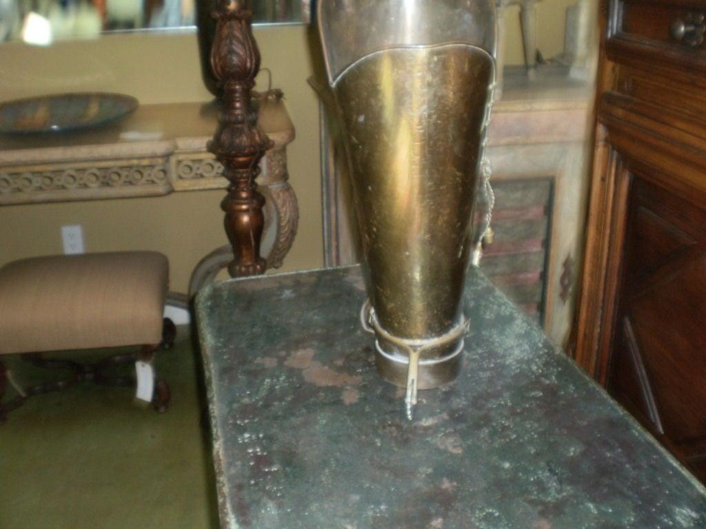 Brass Boot Umbrella Stand 4