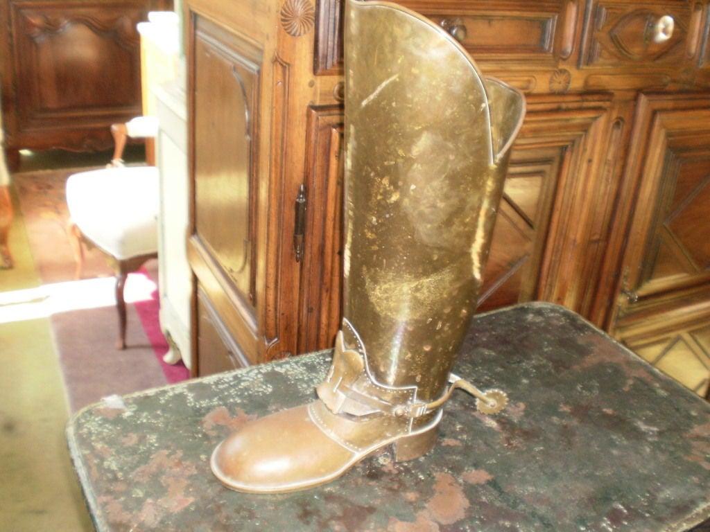 Brass Boot Umbrella Stand 6