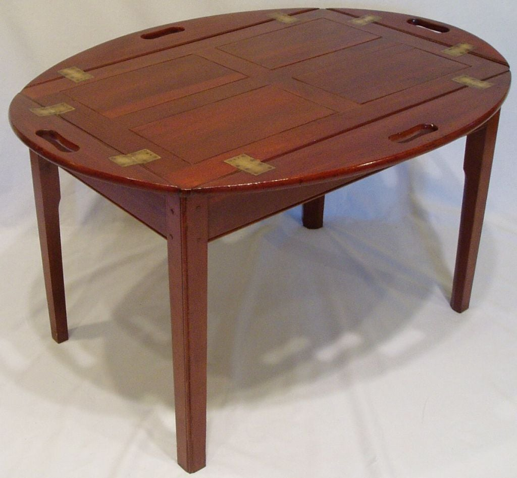 Vintage Butler Coffee Table: Butler's Tray Coffee Table At 1stdibs