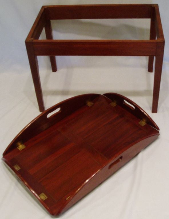 Superieur 19th Century Butleru0027s Tray Coffee Table For Sale