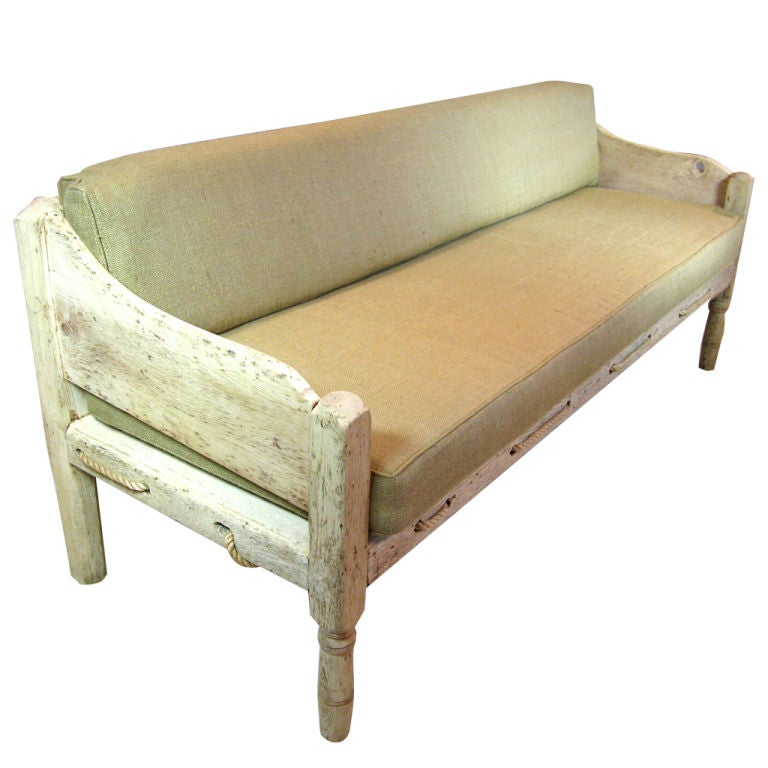 Rustic Sofa At 1stdibs