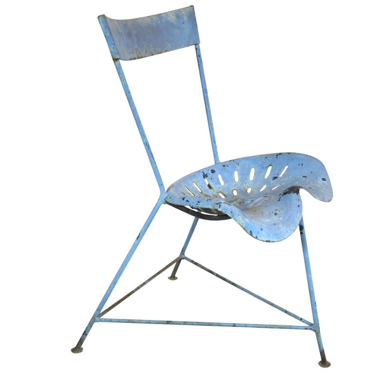 Tractor Seat Outdoor Chairs : Tractor seat chair at stdibs