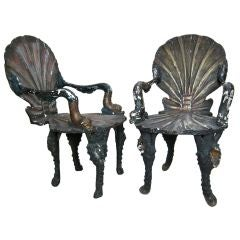 Pair of Grotto Chairs
