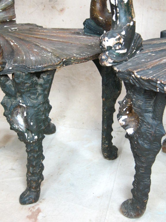 Pair of Grotto Chairs 9