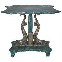 Venetian Dolphin Base Table