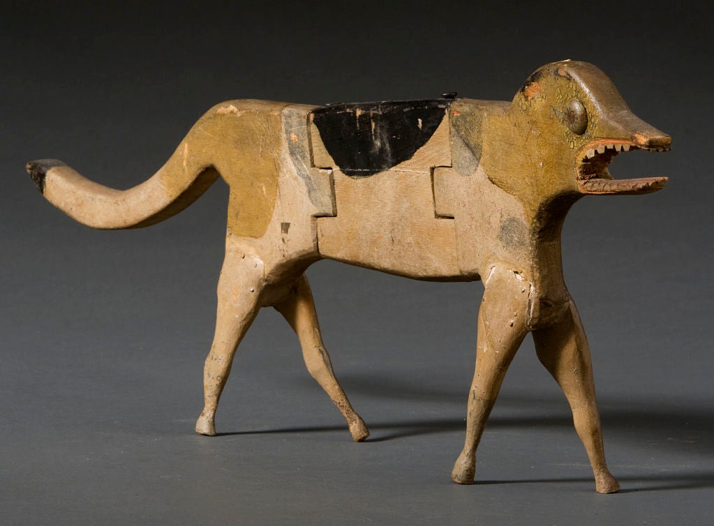 Jointed Wooden Dog image 2