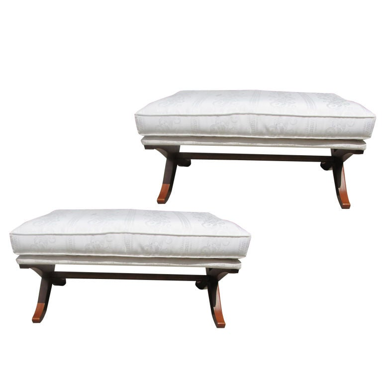 Pair Versace Benches At 1stdibs