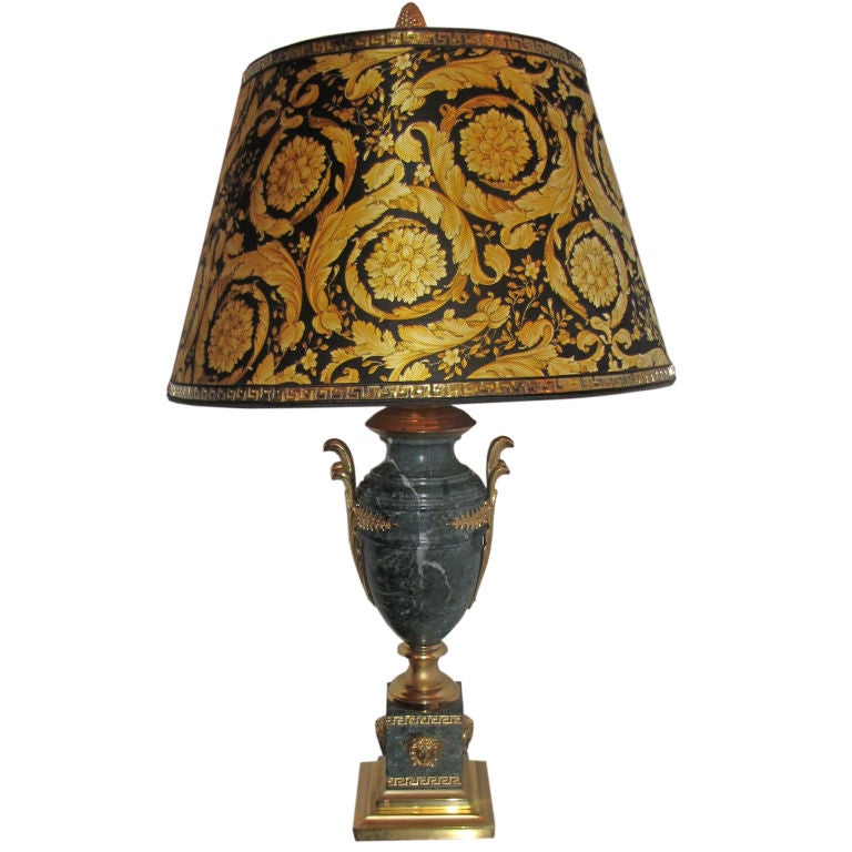 Versace table lamp at 1stdibs for Table versace