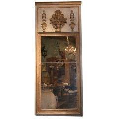 19th Century French Empire Trumeau Mirror