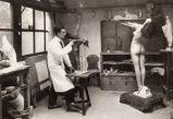 Art Deco Light Statue by Max Le Verrier image 9