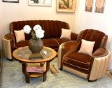 American Art Deco Sofa Suite great hollywood style and  glamour image 2