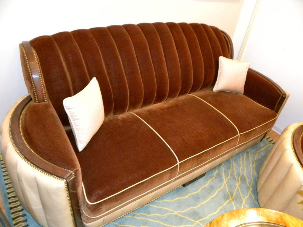 American Art Deco Sofa Suite great hollywood style and  glamour 6